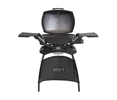 Barbacoa de gas Weber® Q 2200 con soporte grill Black