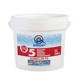 Quimicamp Cloro Quimiclor PS 5 Efectos tabletas 250 gr