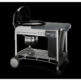 Barbacoa de carbón Weber Performer Deluxe Gourmet GBS, 57 cm Black