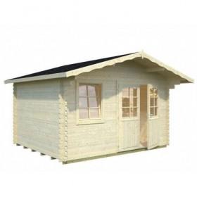 Cabaña de madera Palmako emma 10.4 m2 380 x 320 cm fr34-3832-3