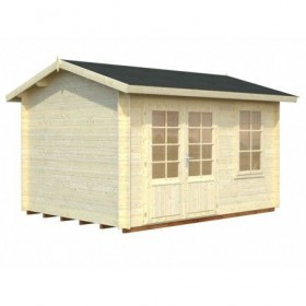 Cabaña de madera Palmako iris 9.6 m2 380 x 290 cm frf28-3829