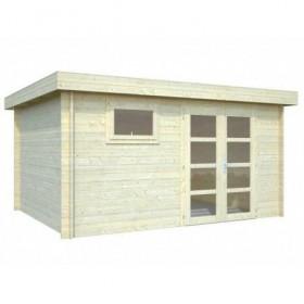 Cabaña de madera Palmako elsa 11.3 m2 410 x 320 cm fr28-4132