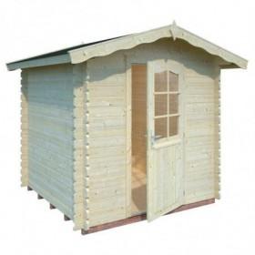 Cabaña de madera Palmako vivian 3.8 m2 220 x 220 cm fr28-2222