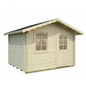 Cabaña de madera Palmako emma 4.6 m2 260 x 220 cm fr28-2622