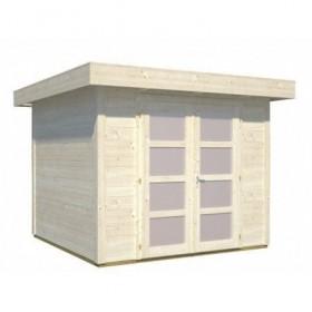 Cabaña de madera Palmako lara 6.0 m2 250 x 250 cm fr28-2524