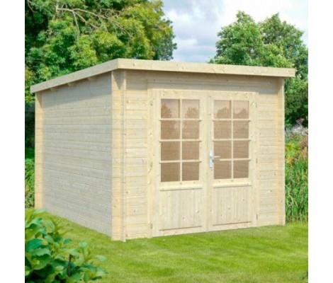 Cabaña de madera Palmako ella 6.9 m2 260 x 320 cm frb28-2632
