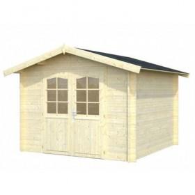 Caseta de madera Palmako lotta 7.3 m2 296 x 296 cm