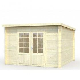 Cabaña de madera Palmako ella 8.7 m2 320 x 320 cm frb28-3232-3