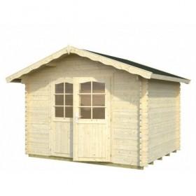 Cabaña de madera Palmako vivian 6.9 m2 320 x 260 cm fr28-3226-3