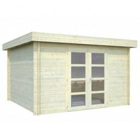 Cabaña de madera Palmako elsa 9,6 m2 350 x 320 cm fr28-3532