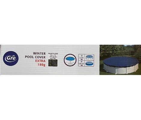 Gre Cubierta Invierno Ø 4,40 m para piscina redonda180 g/m²