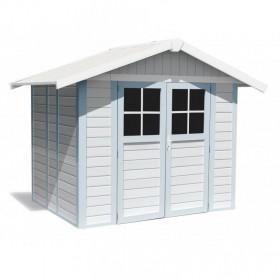 Caseta de PVC Grosfillex Deco 4,9 m2